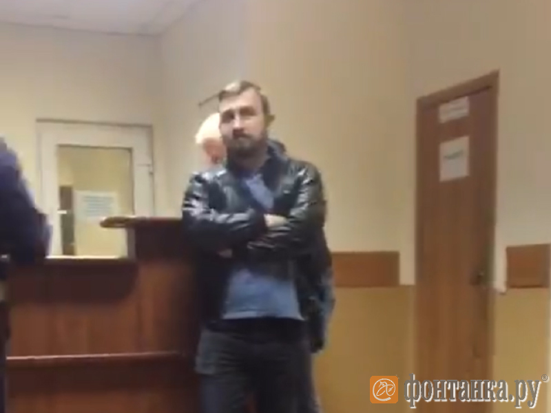Оперативник Центра «Э» Дмитрий Шевченко в 78-м отделе полиции.