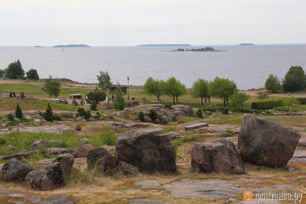 парк Екатерины в Котке