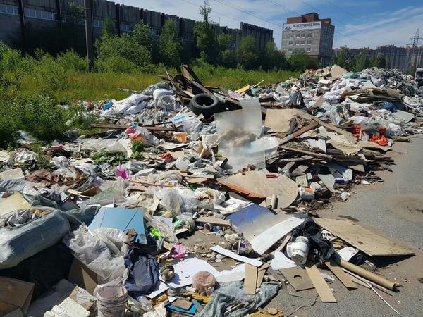 Жители Парнаса проигрывают войну с мусором