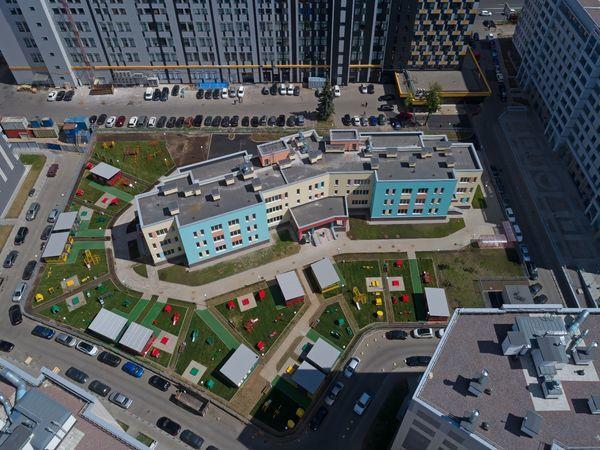 ГК «Эталон» завершила строительство детского сада в Василеостровском районе