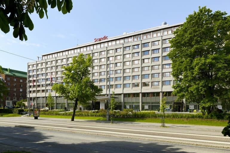 """Scandic Park, бывший отель """"Интерконтиненталь""""/scandichotels.com"""
