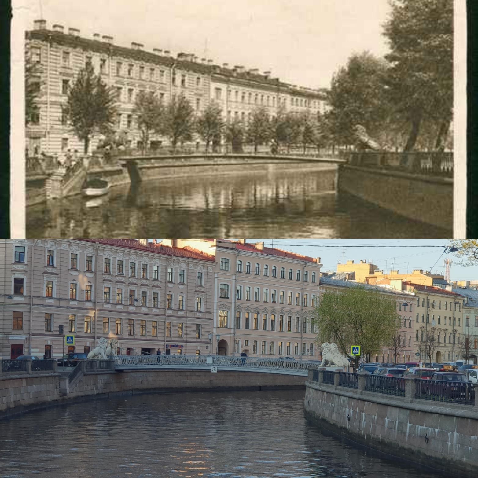 Львиный мостик на канале Грибоедова//предоставлено Марией Тиникой