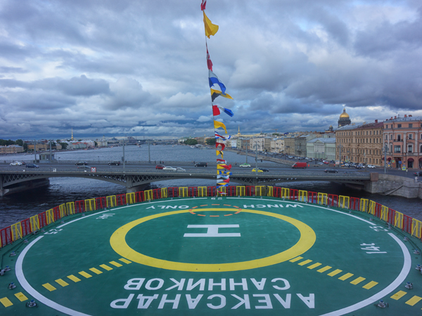 Читатели «Фонтанки» поднялись на палубу ледокола «Александр Санников»