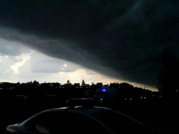 На Москву обрушился шторм столетия