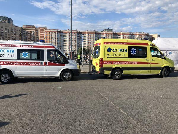 Медицинскую безопасность ЗСД Фестиваля обеспечивала компания «КОРИС»