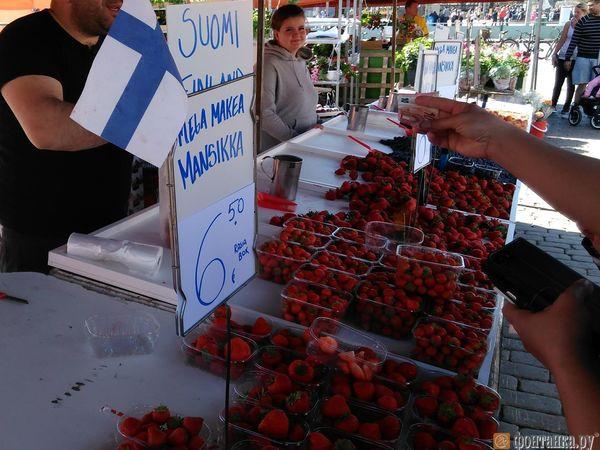 Хорошая погода может снизить цены на финскую клубнику