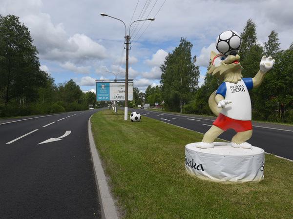 Дороги Петербурга закончили ремонтировать к мундиалю