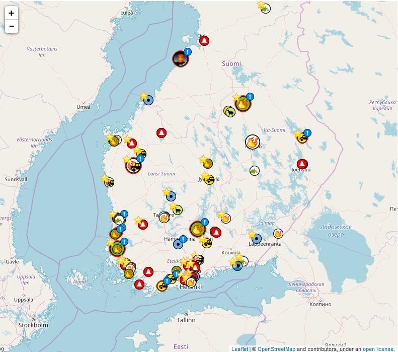 скриншот с сайта http://www.tilannehuone.fi