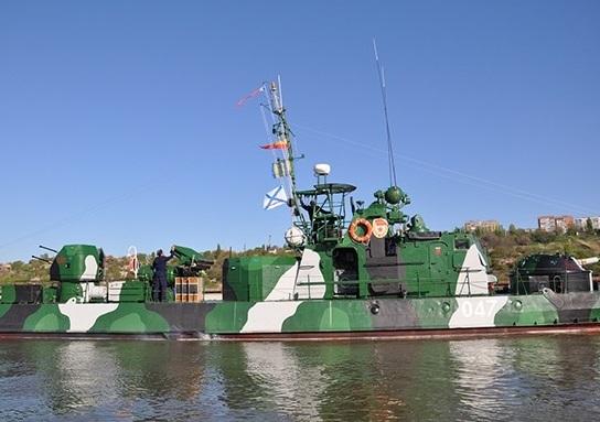 Артиллерийский катер проекта 1204 «Шмель»