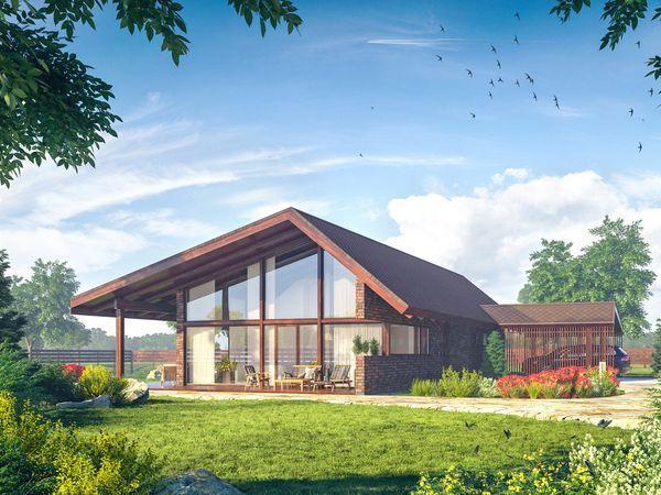 Новый проект домовладения в коттеджном поселке «Сад времени»