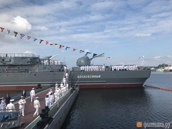 В Кронштадте открыли самый большой в стране корабль-музей