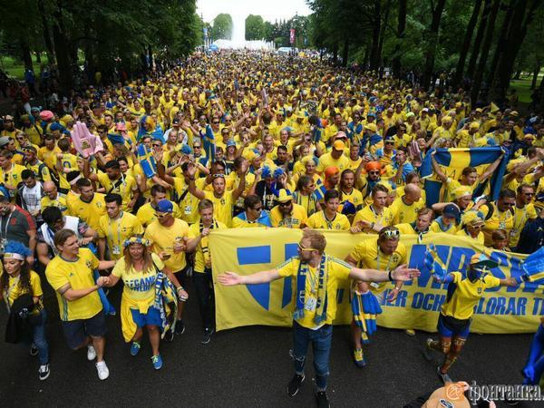 Шведская армия на подступах к «Санкт-Петербургу»