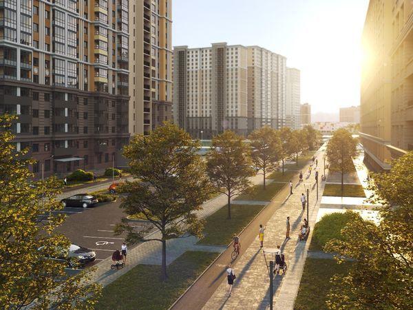 В Петербурге к 2025 году появится новый пешеходный бульвар
