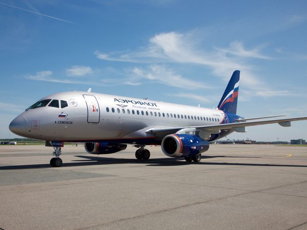 Аэрофлот получил сорок пятый самолёт Sukhoi Superjet 100