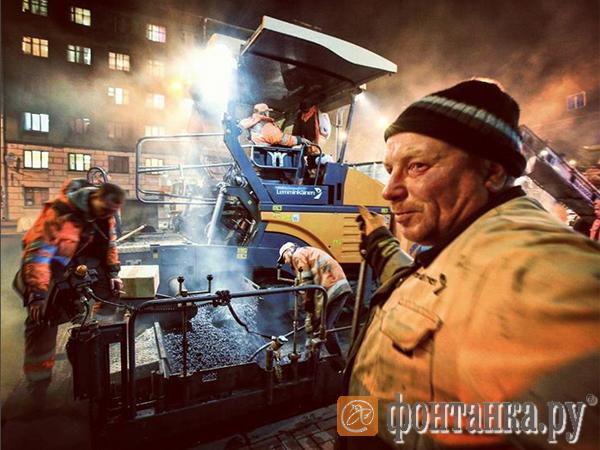 В середине июля Петербург опять перекроют: начинается второй этап ремонта дорог