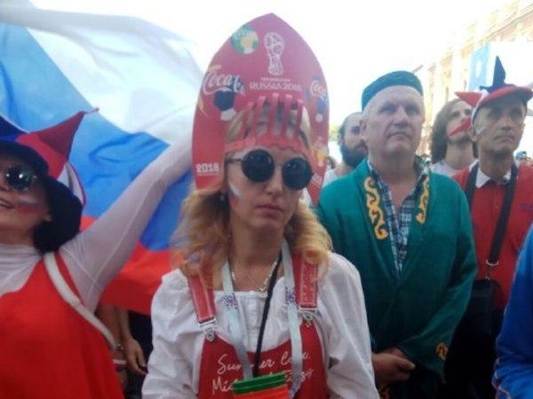 Фан-зону на Конюшенной перед игрой Россия - Хорватия закрыли