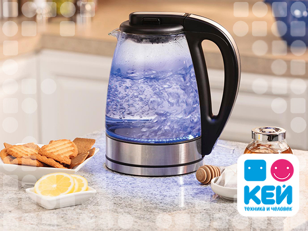 Разбираем мифы об электрических чайниках вместе с КЕЙ