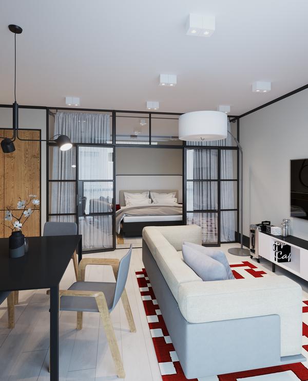 Апартамент Residence/ предоставлено компанией Ярд