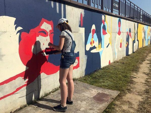 Жилой комплекс ЦДС «Приневский» украсят граффити со сценами из «Евгения Онегина»
