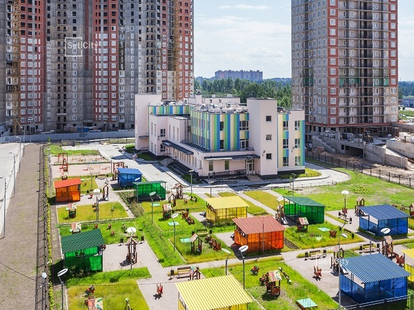 Setl City ввела в эксплуатацию детский сад c бассейном в ЖК «Невские паруса»