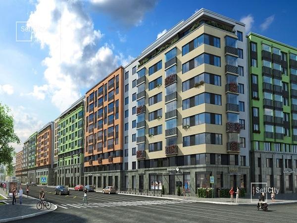 Setl City приступает к чистовой отделке квартир в первой очереди ЖК «Палацио»