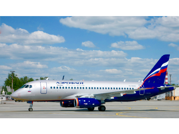 Аэрофлот получил сразу два самолета Sukhoi Superjet 100