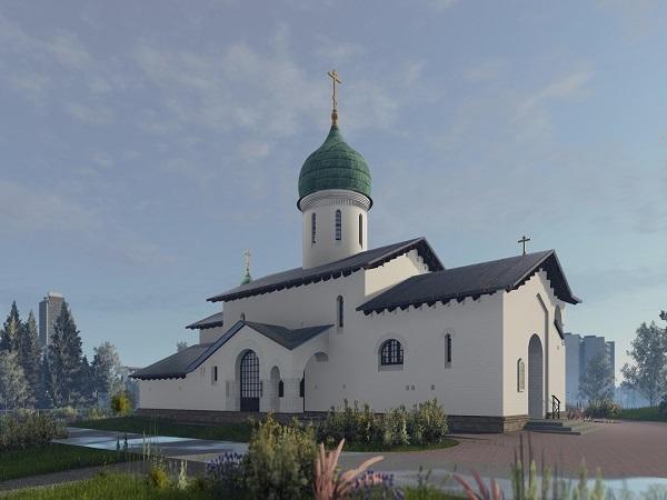 В ЖК «Чистое небо» построят небольшую церковь