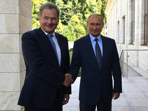 Сажа, медведи, транспондеры, или О чём говорили Путин и Ниинистё в Сочи
