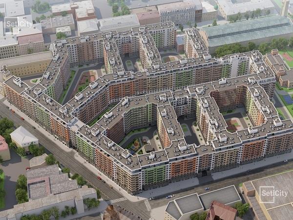 Setl City воссоздает особняк Шопена на Васильевском острове