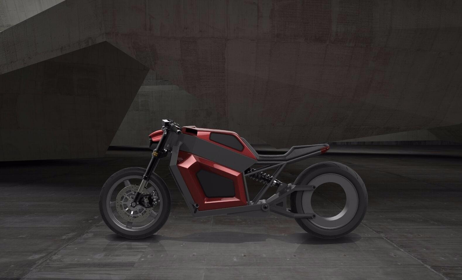 В Финляндии выпустили «дальнобойный» электробайк с мотором в колесе. Массовое производство обещают наладить в следующем году (Иллюстрация 2 из 2) (Фото: rmkvehicles.com)