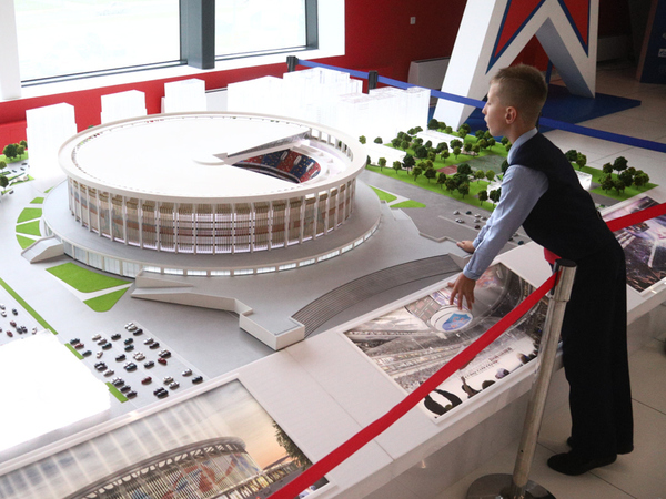 СКА показал новую команду и самый большой стадион в мире