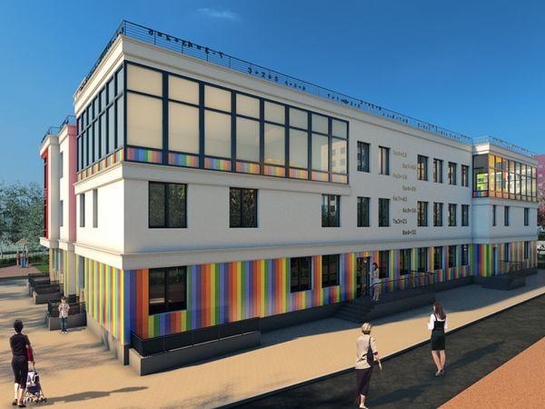 Детский сад в ЖК «Янила Кантри» строится с опережением графика