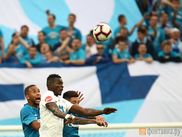 «Зенит» прополз в групповой этап Лиги Европы