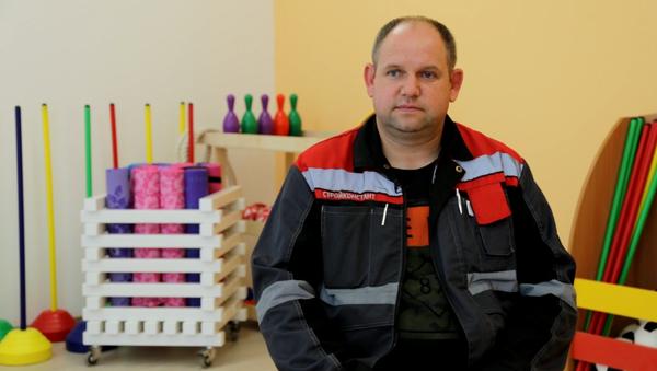 Сергей Лапин/ фото предоставлено компанией ООО «Строительная компания «Дальпитерстрой»