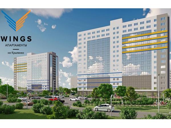 Комплекс «Wings апартаменты на Крыленко» достиг экватора строительства