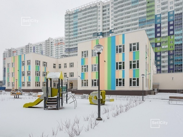 Setl City сдала детский сад в ЖК «ЗимаЛето» на пр. Энергетиков