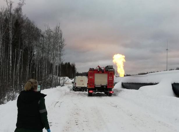 Произошёл взрыв научастке магистрального газопровода вЛенобласти