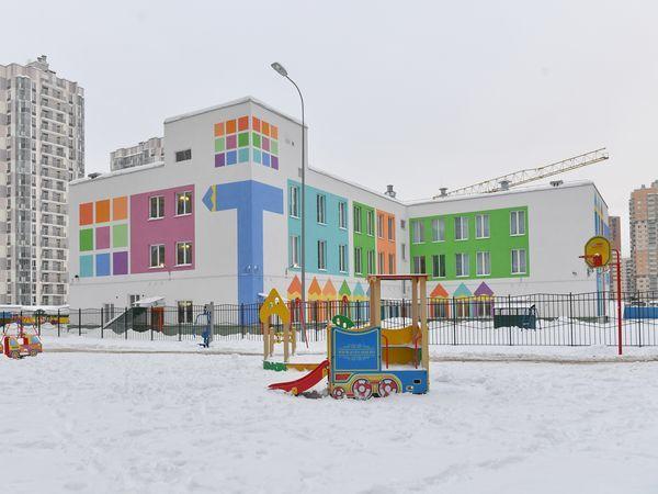 В ЖК «Вернисаж» от «Полис Групп» открылся детский сад