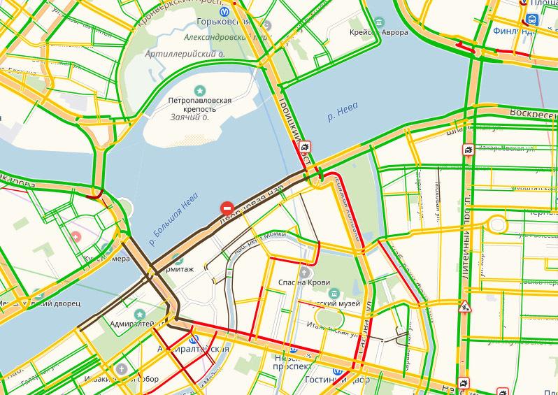 скриншот страницы сервиса Яндекс.Карты