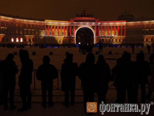 «Салют над Ленинградом». Прямой эфир с Дворцовой площади