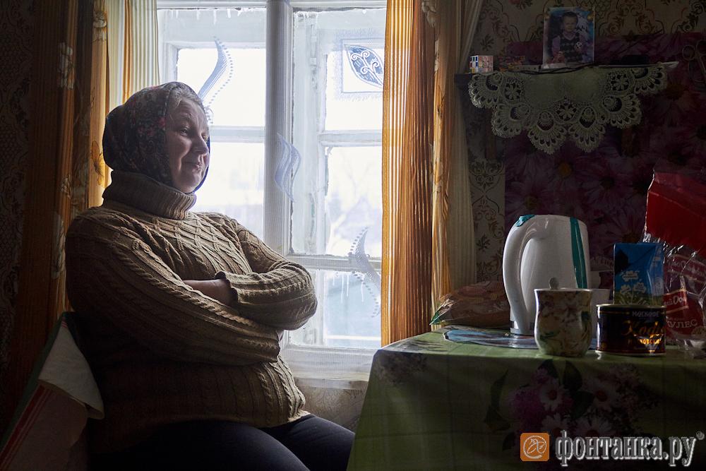 Ксения Малкина у себя дома