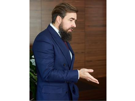 Руководитель холдинга LEGENDA Василий Селиванов/ LEGENDA Intelligent Development