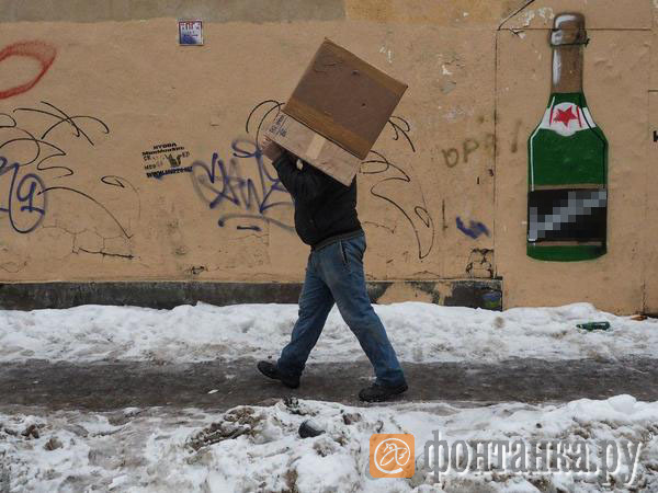 Петербург скользит и тонет. Нужен еще один субботник
