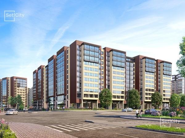 Setl Group приступил к строительству девятой очереди ЖК «Солнечный город»