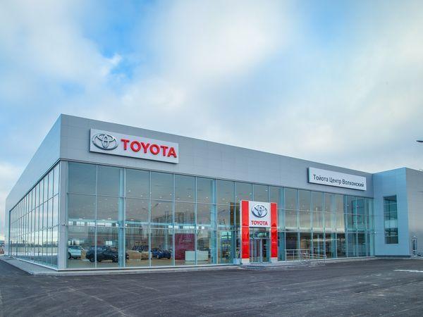 «Тойота» открыла новый крупный дилерский центр на Северо-Западе