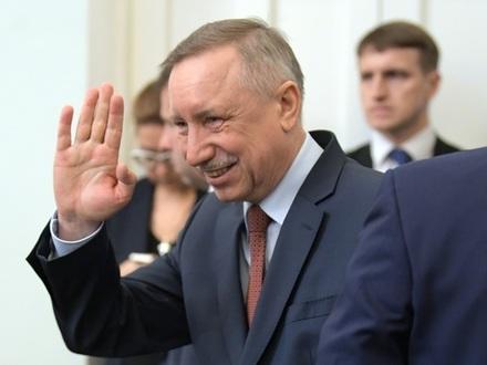 Александр Беглов//Дмитрий Азаров/Коммерсантъ